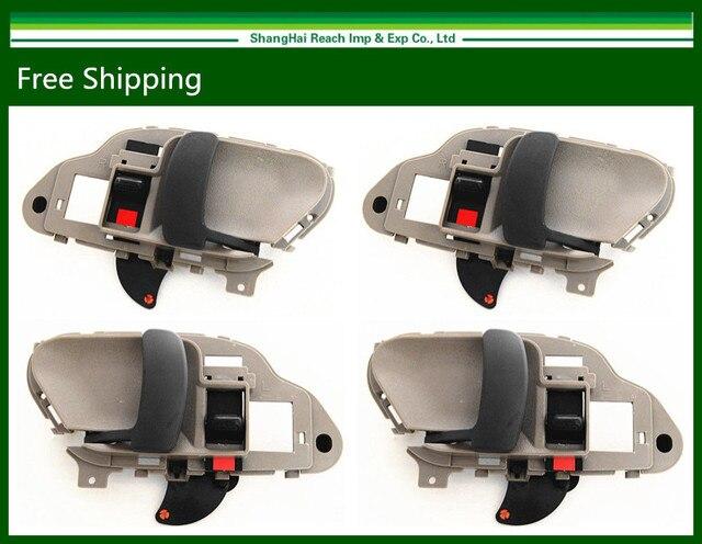 4pcs New Inner Handles For Chevy GMC C/K 1500 2500 Tahoe Yukon Suburban 95-98 15708051/15708052