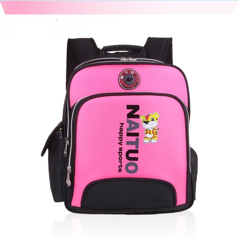 9a579fdf71 Waterproof PVC NAITUO kids bags cartoon mochila bags baby children school  bag kids backpack For Class 1-3