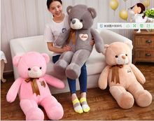 stuffed toy huge 140cm teddy bear plush toy love bear doll soft hugging pillow Valentine's Day,proposal, Xmas gift c663