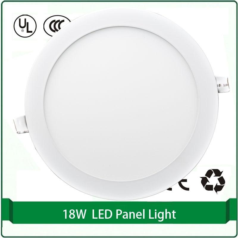 Round Flat Panel Light 18w Super Slim Panel Lights 220mm