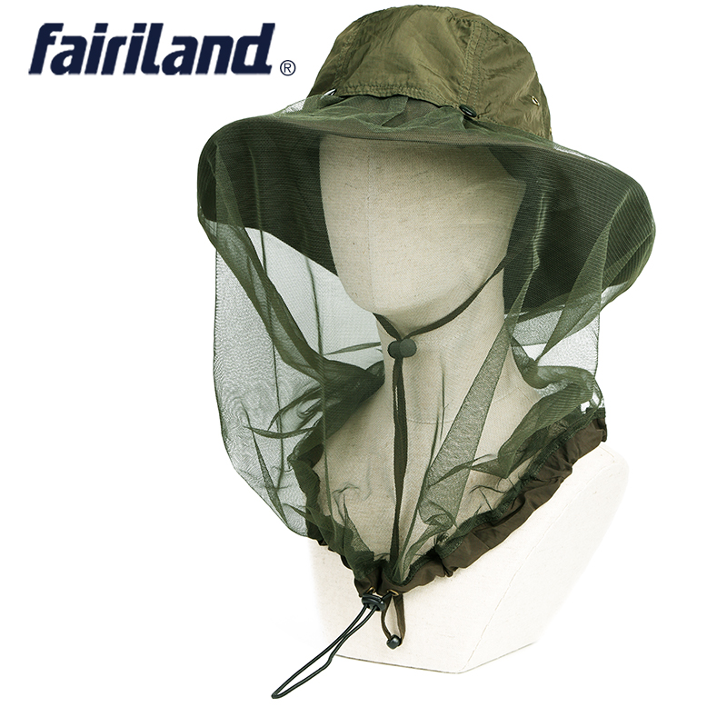 0ddf3218a69d1 Detail Feedback Questions about 5 colors Quick dry bug away bucket hat w   360 degree netting UPF 40+ sun hat fishing hats booney hat outdoor hats on  ...