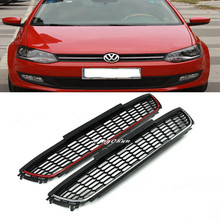 Car Accessories ABS Front Lower Racing Grille For 2013 VW Polo