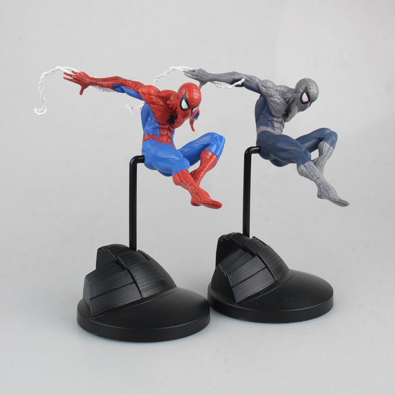 The Amazing <font><b>Spiderman</b></font> CREATOR X CREATOR Spider-man PVC Action Figures Collectible Model Kids Toys Doll 18cm <font><b>2</b></font> colors