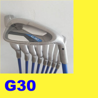 G30 Golf Irons Golf Club 3 9.W.S 9pcs Black Steel Graphite shaft Driver Fairway woods Hybrid Wedge Rescue Putter clubs Iron