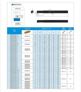 """Image 5 - Инструмент для обработки канавок oyu MGIVR MGMN200, инструмент для нарезки канавок, держатель для токарного инструмента для отверстий, 1,5/2/3 мм, с функцией """"arbora Groove"""""""