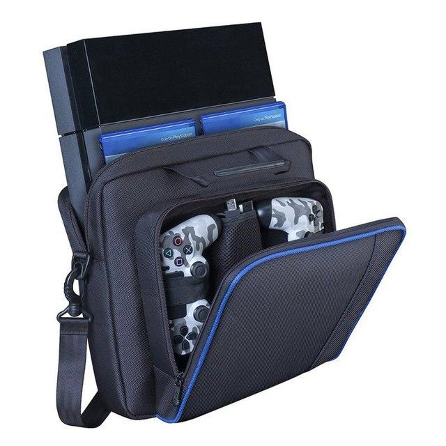 Alta Qualidade Saco De Viagem de Armazenamento Multifuncional para PS4 Carry Case Controlador À Prova D' Água Bolsa de Protecção Para Sony Playstation