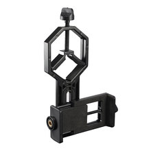 Astronomical binocular monocular telescope universal Phone clip holder connection Bard stent tripod Adapter Mount Material ABS