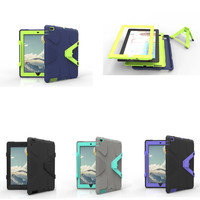 For Apple IPad 2 IPad 3 IPad 4 Kids Case Cover Impact Resistant Hybrid Three Layer