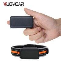 VJOYCAR Micro Collier GPS Tracker Mini Enfants Enfants Animaux Chat Chien Sac Vélo Localisateur De Voiture Étanche Livraison Logiciel de Suivi