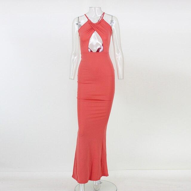 Chelsea Choker Halter Neck Satin Cami Dress