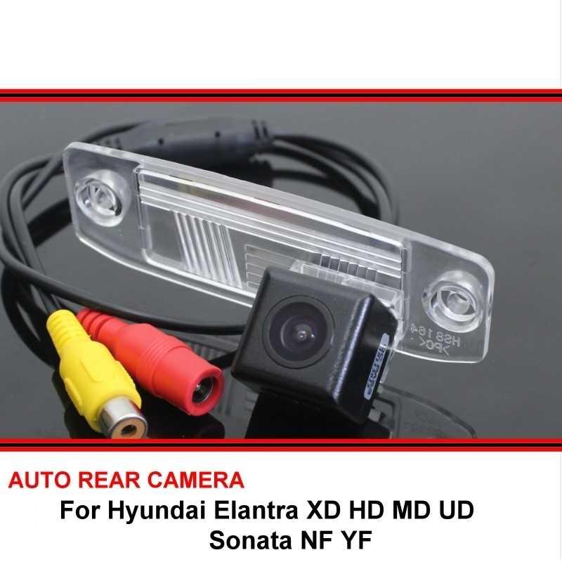 現代エラントラのための XD HD MD UD ソナタ NF YF リアビューカメラのバックアップリバースカメラ駐車場カメラ HD Ccd ナイトビジョン