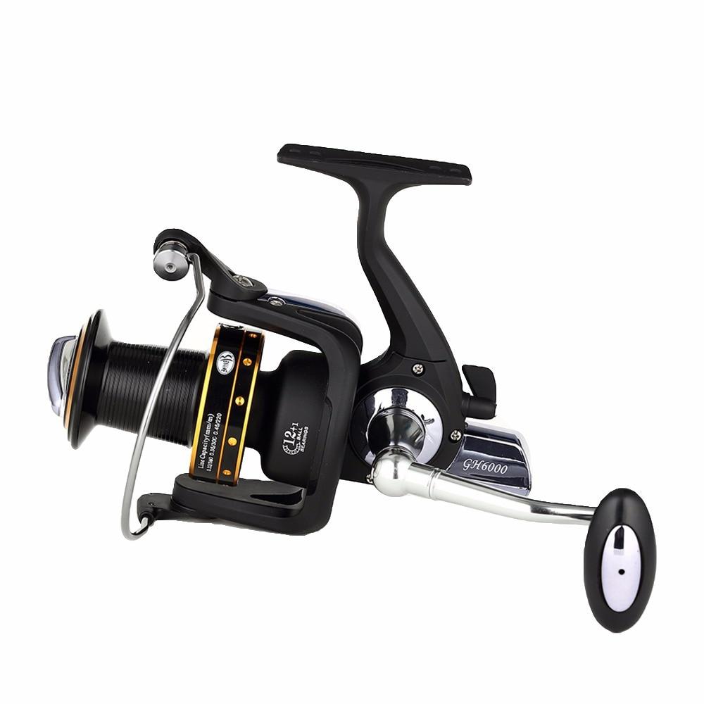 цена на 14BB Ball Bearings High Speed 5.2:1 Fishing Reel Spinning Wheel Spinning Reel 6000-8000 Series Spinning Carretilha Carp Reel