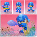 Hot-selling 1 conjunto 10 cm pvc anime Japonês figura Nendoroid 556 Capcom Rockman Rocha Homem figura de ação DO PVC