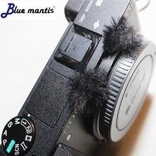 Micromuff o original vento silencioso para Sony DSC-rx100 deat gato vento muff cobertura do microfone para a série de Sony DSC-RX100