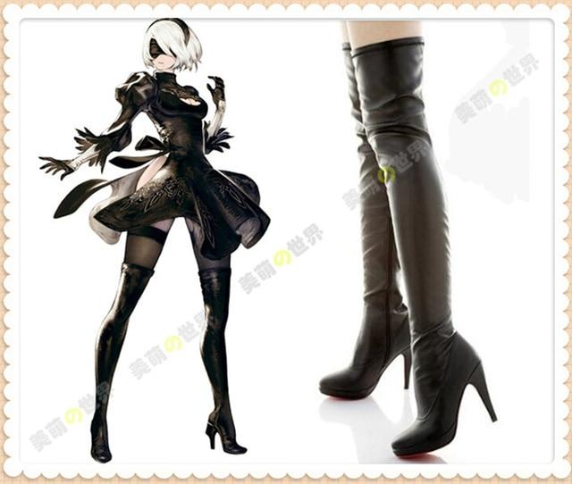 Anime high heel boots