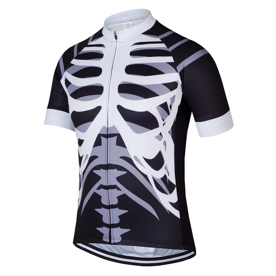 Tinkkic New 2018 Cycling Jersey Men Short Sleeve Polyester Bike Clothes breathable quick-drying Maillot Ciclismo More color