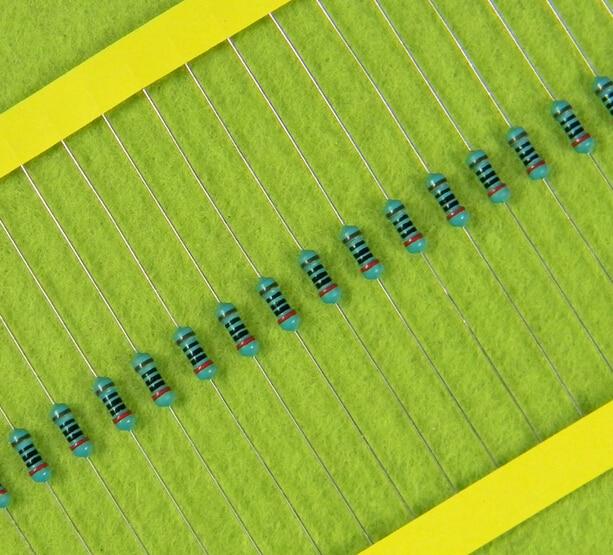 1/4 Вт 360 К Ом Точность 1% Металл резистор 100 шт. электронные компоненты
