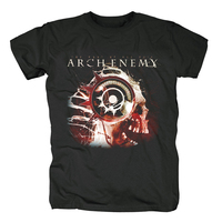 Bloodhoof Free shipping Authentic ARCH ENEMY Melodic Death Metal Pure Metal Uncensored Machine HEAVY cotton T shirt Asian Size