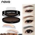 Nueva llegada Brwon Gris ojos maquillaje en polvo ceja cejas maquillaje coreano