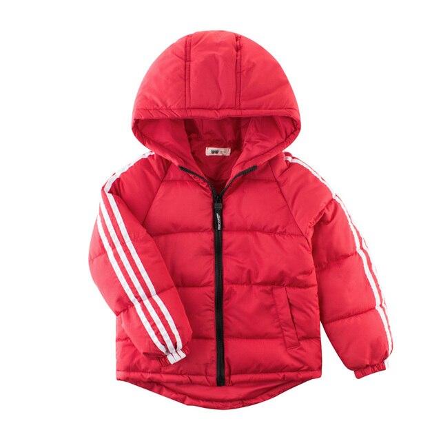 4aba8533d565 2018 New Girls Winter Coat Boys Jacket Warm Thick Children Teen ...