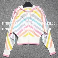GoodliShowsi Дизайнер взлетно посадочной полосы Для женщин свитера верхняя одежда на сезон весна осень Высокое качество 100% кашемир с капюшоном Р