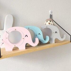 Деревянный слон Копилка Скандинавия украшение для детской комнаты для мальчиков детская комната для девочек декор для детской комнаты деревянная Статуэтка
