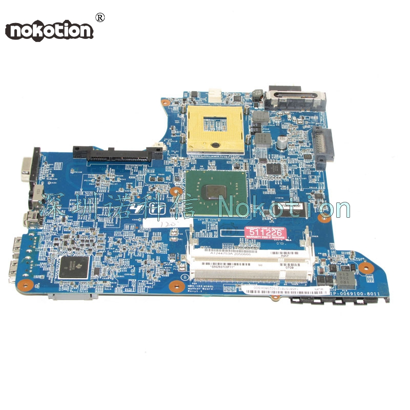 NOKOTION Laptop motherboard for Vaio VGN-C A1219538A A1244753A MBX-163 REV 1.1 945GM <font><b>DDR2</b></font> Mother Board Free Shipping image