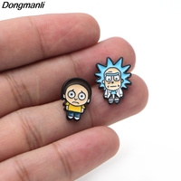 Rick and Morty Earrings 3