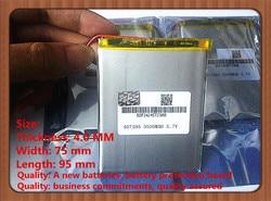 Bateria de polímero de lítio 7,8, 9 polegada tablet PC 3.7 V lithiumion 'Com Alta Qualidade 407595 5500 MAH da bateria do tablet
