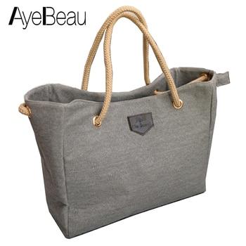 Summer Shopper Large Lady Beach Canvas Shoulder Hand Women Messenger Tote Bag Female Handbag For Sac A Main Femme Big Canta Sale