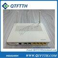 Original huawei hg8245h terminal gpon onu, HGU Modo de Ruta, 4 GE puertos lan + 2 teléfono + 1 wifi, interfaz de Inglés