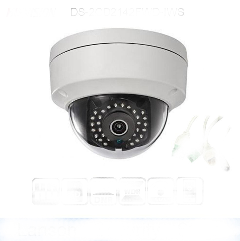 In stock HIK 4MP PoE IP Camera DS-2CD1143G0-I HD CMOS Network Dome CCTV Cameras 30M IR Clear Night version P2P Remote AccessIn stock HIK 4MP PoE IP Camera DS-2CD1143G0-I HD CMOS Network Dome CCTV Cameras 30M IR Clear Night version P2P Remote Access