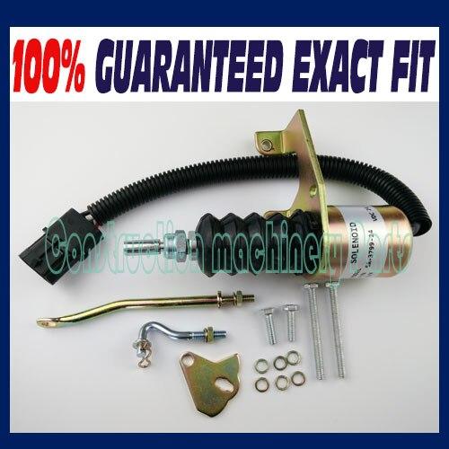 Brand New Solenoid SA3799 SA-3799-24V 6290050 Fuel Stop Shutdown Shut Off B osch 1751ES