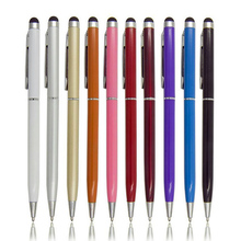 5pcs 2in1 Touch Screen Stylus Pen+Ballpoint Pen for iPad iPhone Tablet