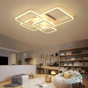 Image 4 - New Arrival nowoczesne lampy sufitowe led do salonu sypialnia kreatywna lampa sufitowa led lamparas de techo plafonnier led