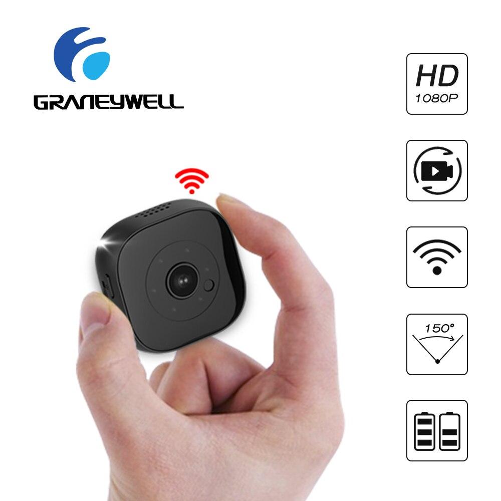 Mini Camera IP WiFi Full-HD 1080P IP Camera Home Security Wifi Camera Built-in Battery Mini Kamera IR Night Vision Camera