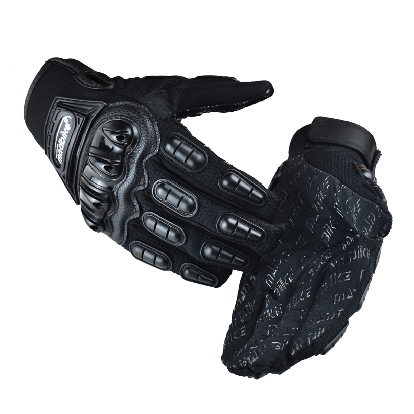 Madbike moto rcycles moto handschuhe männer guantes moto rcycle racing luva couro moto cicleta moto r <font><b>bike</b></font> moto kreuz handschuhe rot blau schwarz image