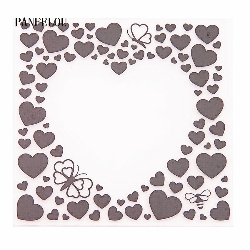 6 Styles Plastic Embossing Folders Transparent Template Photo Album Decoration Making Scrapbooking Craft Card DIY hand Stamps