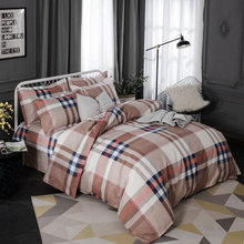 Wholesale Hot Sale Fashion Design Four Bedding Set Soft Cashmere Full Bedspread Bed Sheet Gift