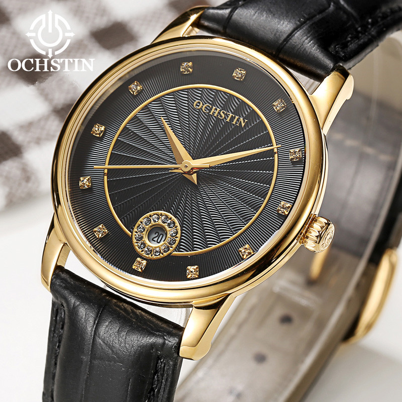 2017 OCHSTIN Top Luxury Brand Women Watches Fashion Ladies Quartz Watch Female Clock Women Dress Montre Femme Relogio Feminino women men quartz silver watches onlyou brand luxury ladies dress watch steel wristwatches male female watch date clock 8877