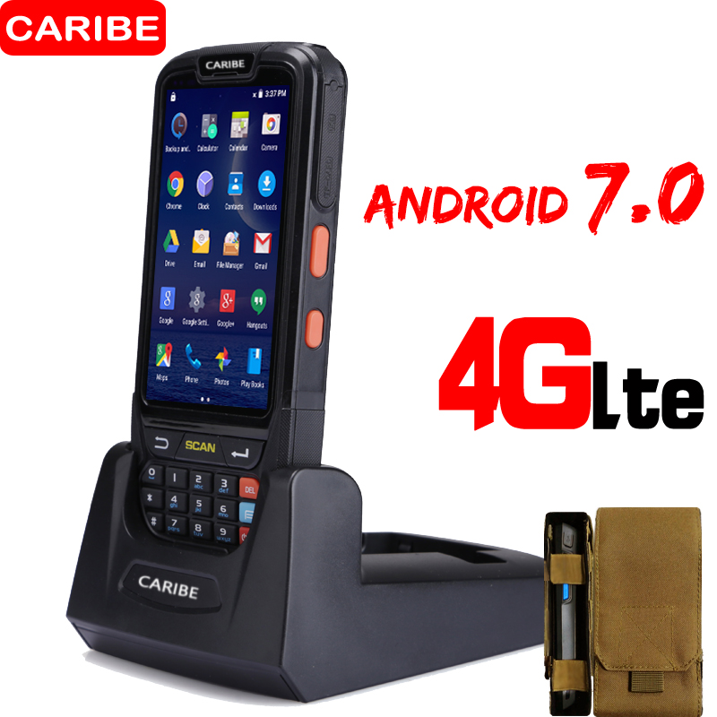Caribe PL-40L Android OS Handheld Industrial data collector with1D laser barcode scanner and 8MP camera