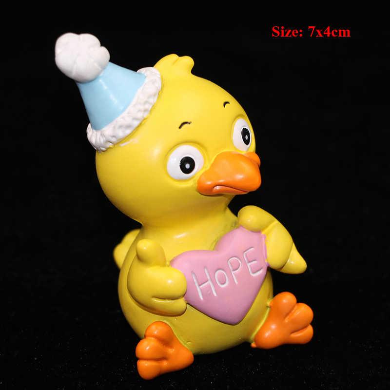 Anak-anak Mainan untuk Anak Bayi Gadis Pesta Ulang Tahun Bayi Cupcake Dekorasi Ayam Cewek Kue Topper Boneka