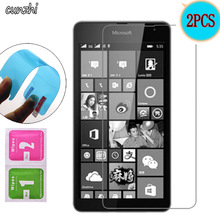 2PCS For Microsoft Lumia 535 Ultra Clear Nano Explosion-proof Screen Protector