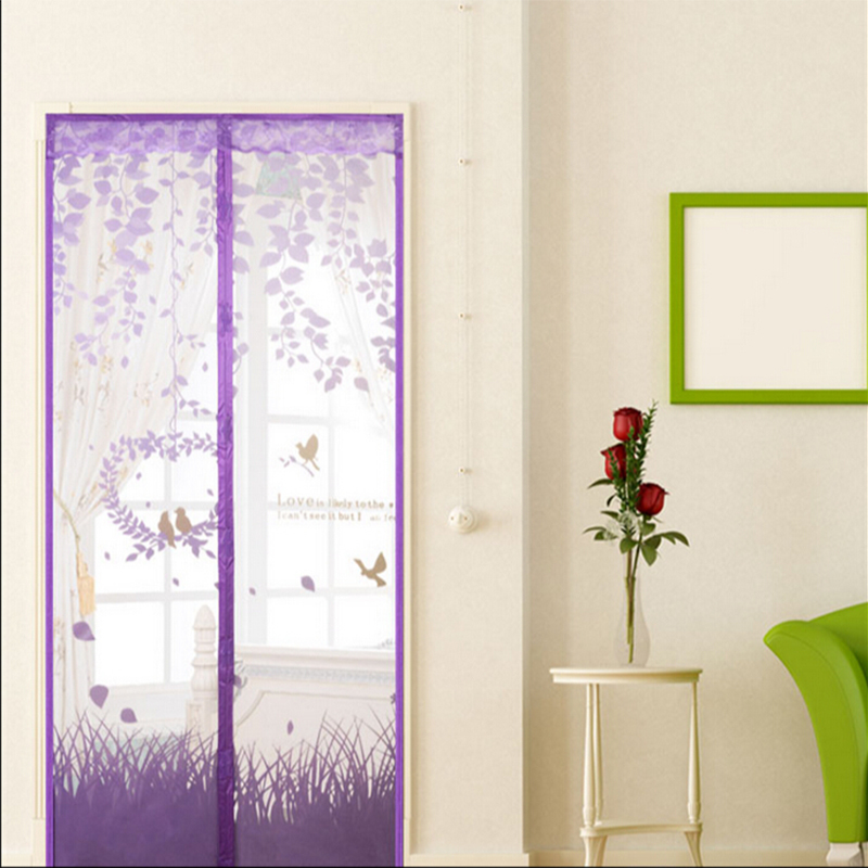 Summer High Grade Magnetic Ruansha Mosquito Curtain Screen Door Net Wear Free Of Salmonella In From Home