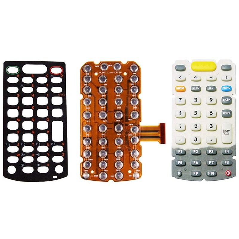 1 компл./1 Лот Новый 38 Ключи переключатель + клавиатура Наложение + клавиатура для Motorola символ MC3000 3070 3090 MC3190 сканер штрих Читатель Запчасти