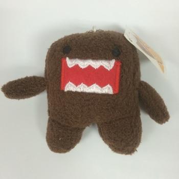 8 cm DOMO KUN Plush toys Phone Charm Pendant Lanyard doll Bag Key chain domokun funny kawaii keyring Domo-kun plush toy 6