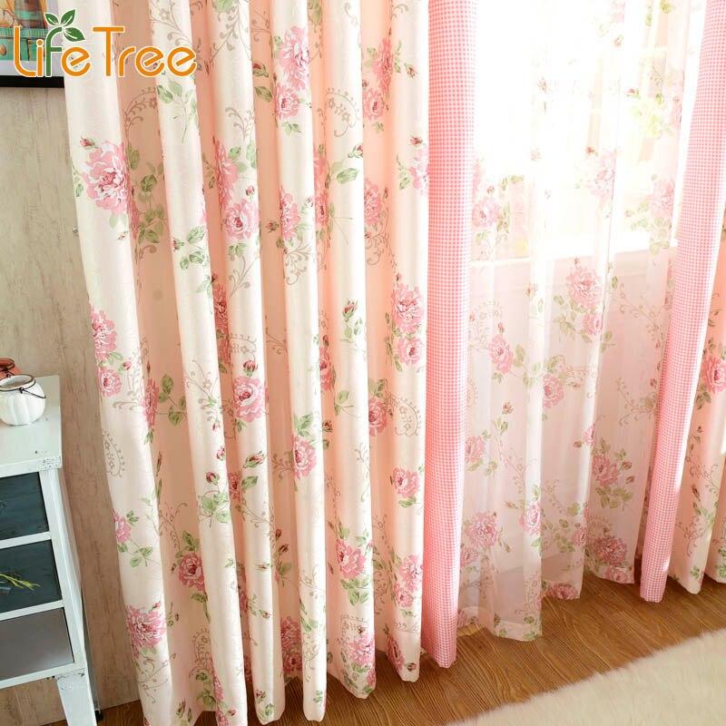Online Kaufen Großhandel Rosa Fenster Vorhänge Aus China