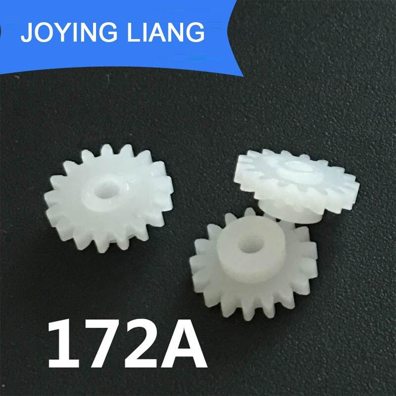 172A 0,5 м 17 зубы 2 мм голенище плотно Pom Пластик шестерни Шестерни игрушка модель Шестерни(5000 шт./лот