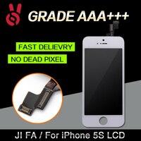 10 UNIDS/LOTE Estrenar No Pixel Muerto Todo Probado Pantalla de Calidad AAA para el iphone 5s lcd prueba uno por uno envío libre vía DHL