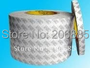 100 Guarantee Original 3M 9080 HL two sided clear sticky tape 76 2mm 50M 1rolls lot